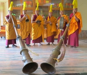 FCA-tibetan monks with horns