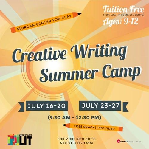creative writing camp