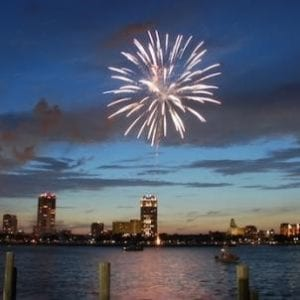 city of st pete fireworks