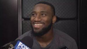 Tre' Quan Smith prepare for regular season opener with New Orlean's Saints
