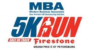 Modern Business Associates 5K Run logo