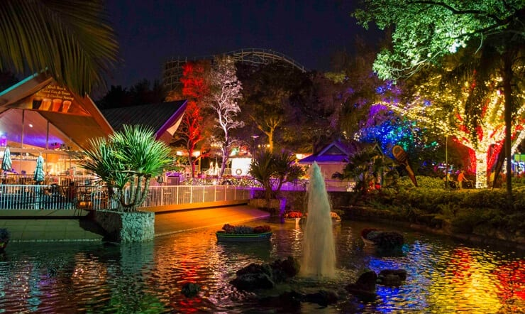 ChristmasTown at Busch Garden's Tampa Bay