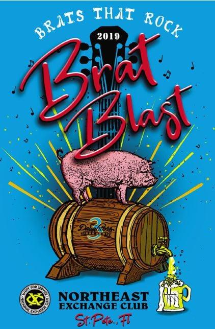 Brat Blast at 3 Daughters Brewing