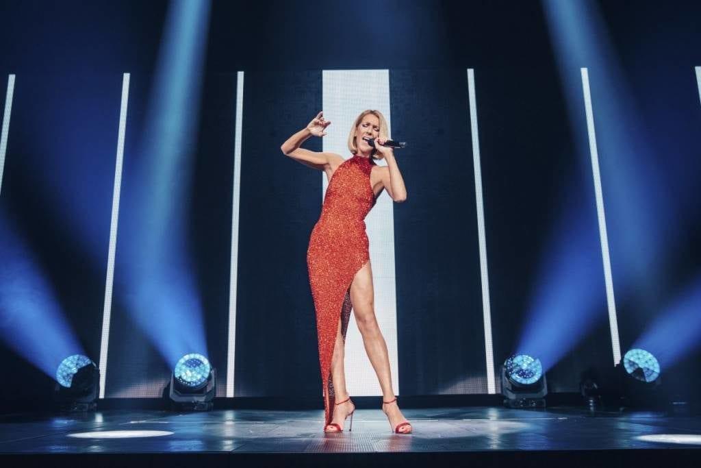 Celine Dion Couragee World Tour