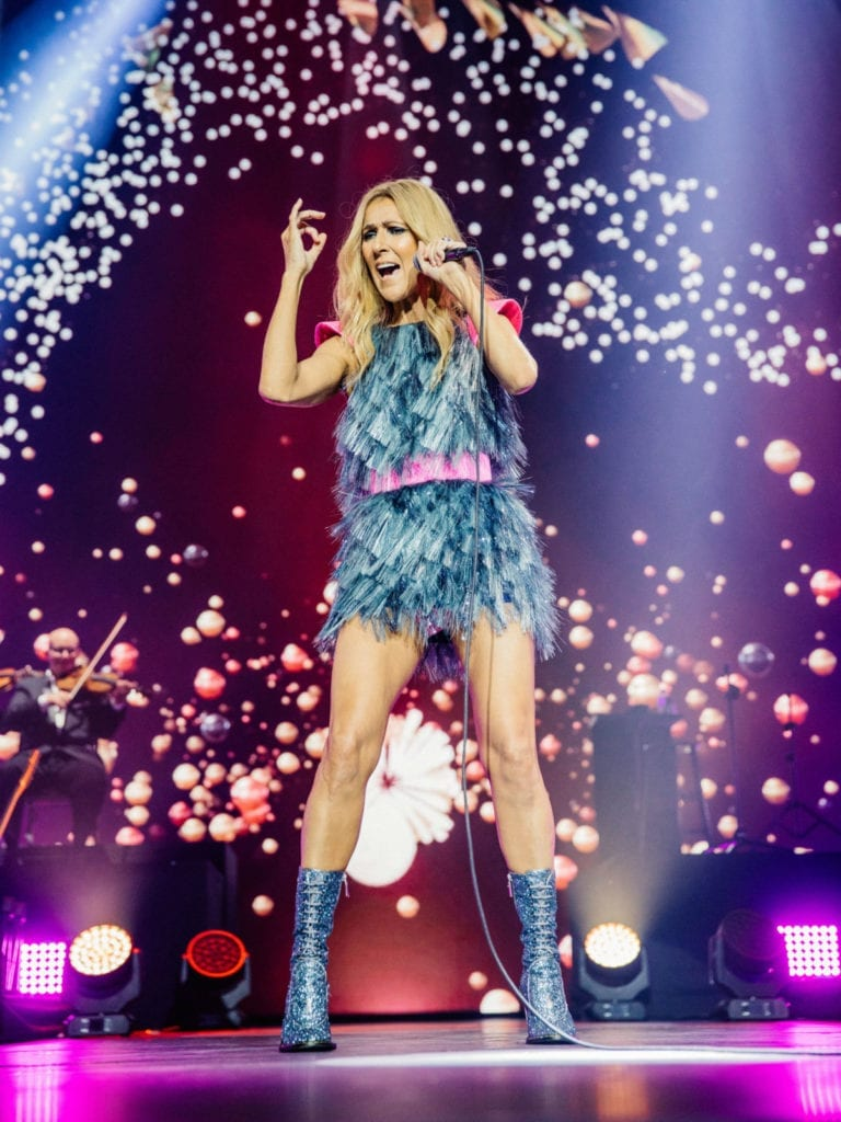 Celine Dion for Courage World Tour
