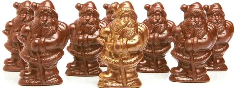 William Dean Chocolate Santas